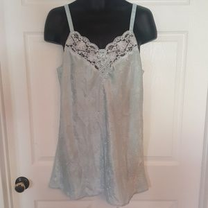Vintage Baby Blue Slip / Nightie